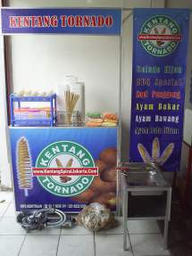 Franchise Kentang Ulir