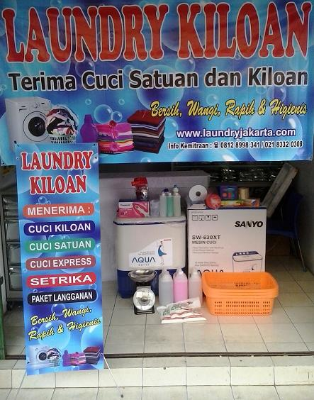 franchise laundry kiloan murah
